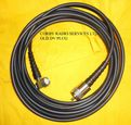 CB PATCH LEAD 4mts SIRIO DV OLD TO PL259 (NO PIN) TO BODY MOUNT ANTENNA